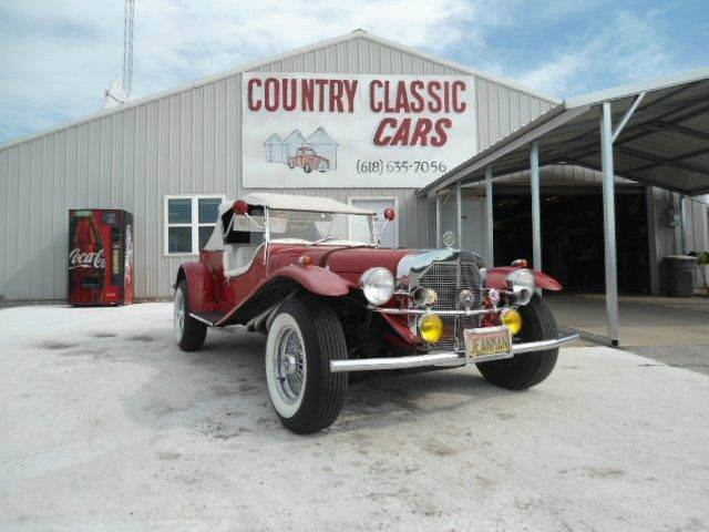 used 1929 mercedes benz kit car conv for sale. Black Bedroom Furniture Sets. Home Design Ideas