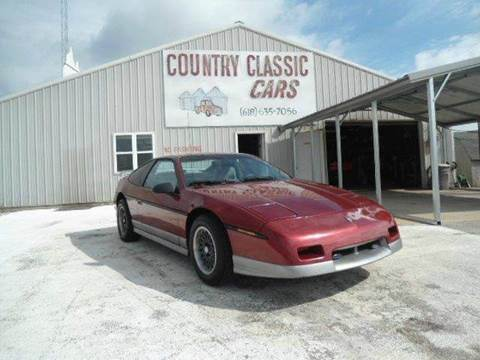 1987 Pontiac Fiero for sale in Staunton, IL
