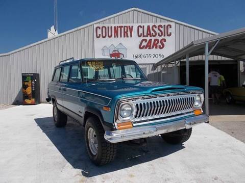 1976 Jeep Wagoneer for sale in Staunton, IL
