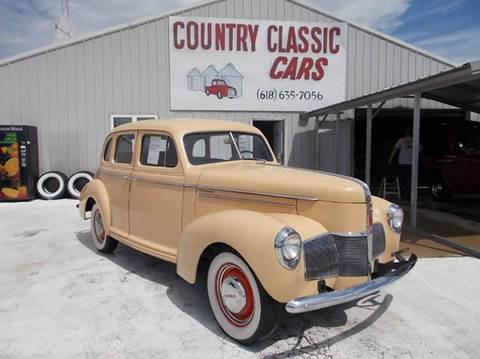 1940 Studebaker Champion for sale in Staunton, IL