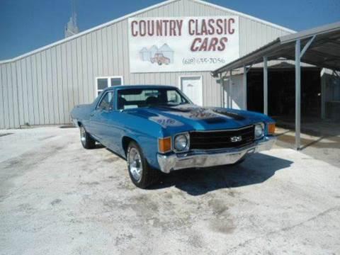1972 Chevrolet El Camino for sale in Staunton, IL