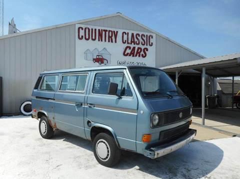 1984 Volkswagen Vanagon for sale in Staunton, IL