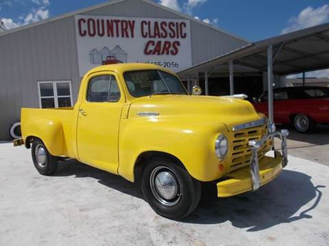 1950 Studebaker PU for sale in Staunton, IL