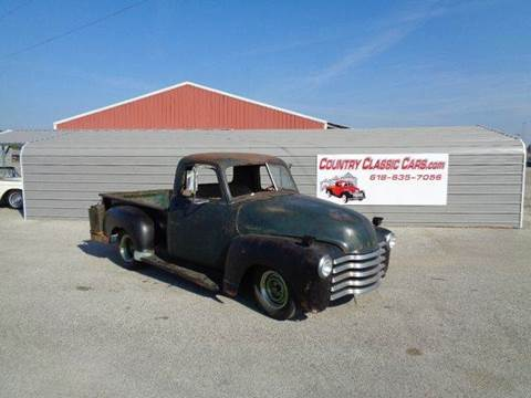 1954 Chevrolet C/K 20 Series for sale in Staunton, IL