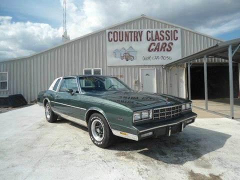 1981 Chevrolet Monte Carlo for sale in Staunton, IL