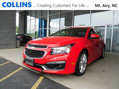 2015 Chevrolet Cruze for sale in Mt Airy, NC