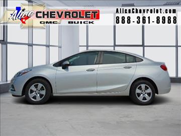 2016 Chevrolet Cruze for sale in Alice, TX