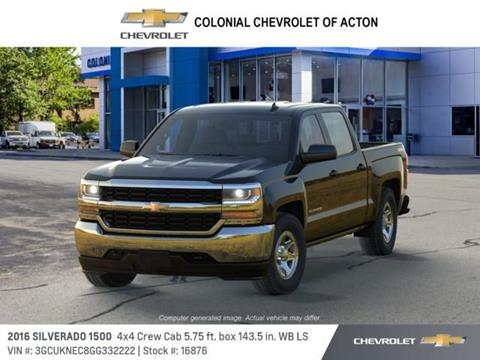 2016 Chevrolet Silverado 1500 for sale in Acton, MA