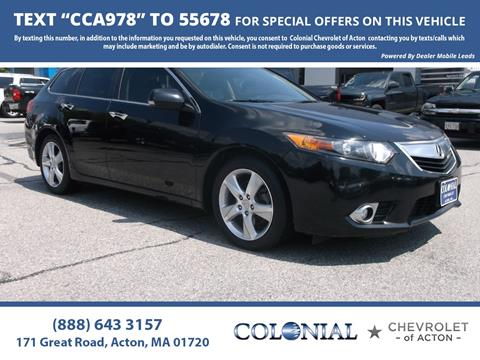 2013 Acura TSX Sport Wagon For Sale In Acton, MA