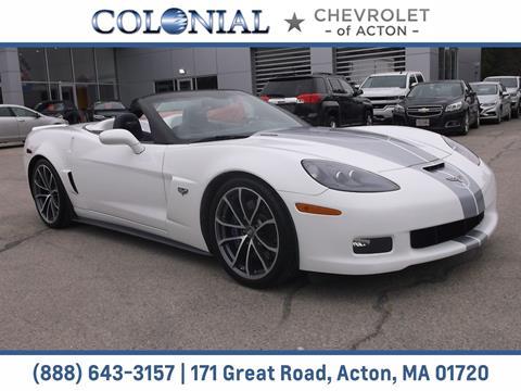 2013 Chevrolet Corvette for sale in Acton, MA