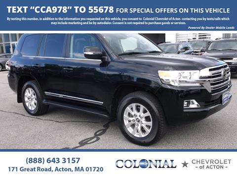 2017 Toyota Land Cruiser for sale in Acton, MA