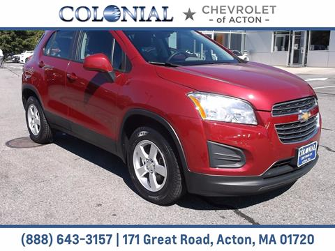 2015 Chevrolet Trax for sale in Acton, MA