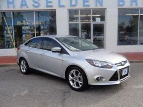 2013 Ford Focus for sale in Hemingway, SC