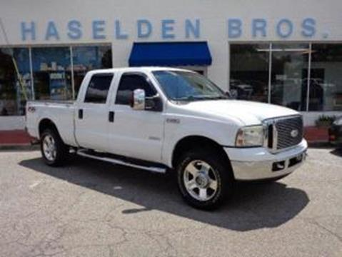 2006 Ford F-250 Super Duty for sale in Hemingway, SC
