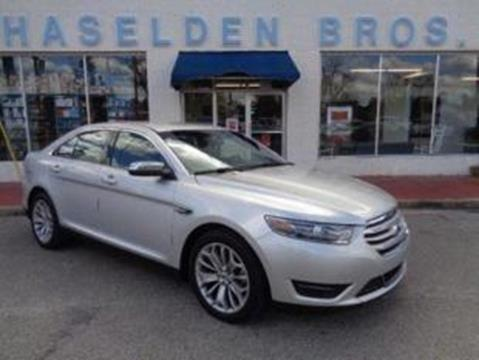 2015 Ford Taurus for sale in Hemingway, SC