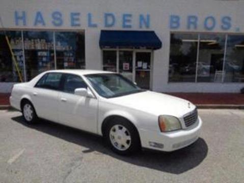 2003 Cadillac DeVille for sale in Hemingway, SC