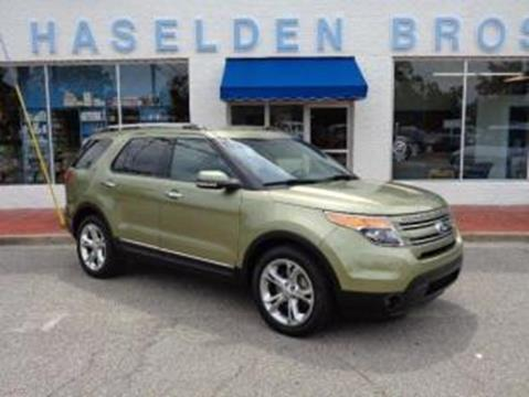2013 Ford Explorer for sale in Hemingway, SC