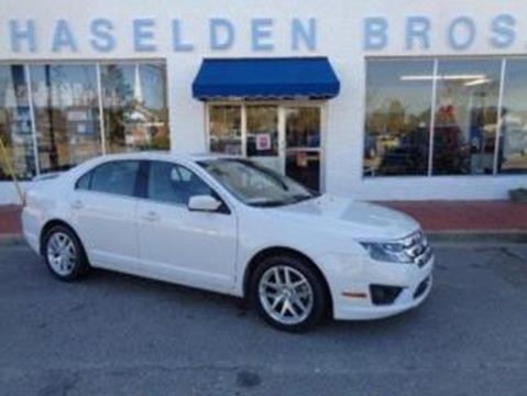 2012 Ford Fusion for sale in Hemingway, SC
