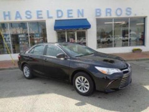 2015 Toyota Camry for sale in Hemingway, SC
