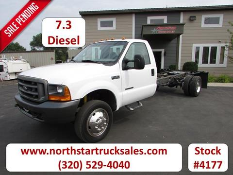 2001 Ford F-450 Cab Chassis for sale in St Cloud MN