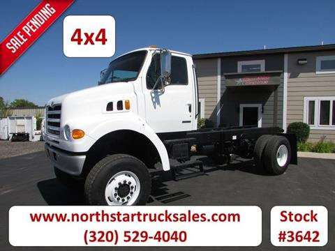 2001 Sterling 4x4 Cab Chassis for sale in St Cloud, MN