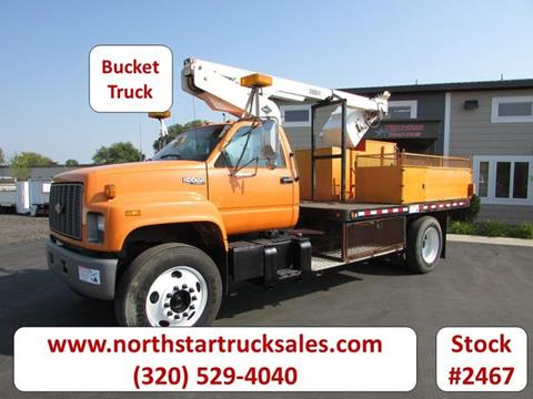 1996 Chevrolet Kodiak Utility Bucket Truck for sale in St Cloud, MN