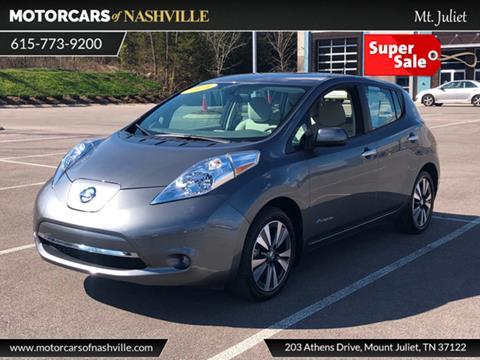 2016 Nissan LEAF for sale in Mount Juliet, TN