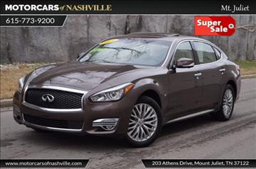 2015 Infiniti Q70L for sale in Mount Juliet, TN