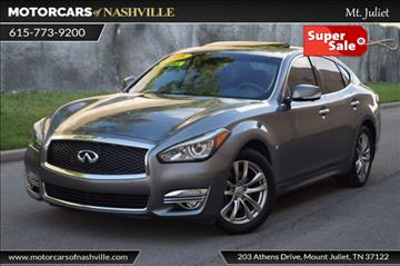2015 Infiniti Q70 for sale in Mount Juliet, TN