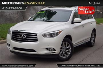 Infiniti Jx35 For Sale Tennessee