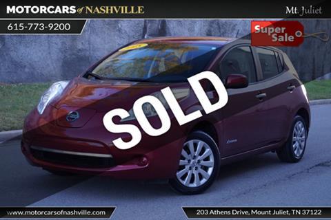 2015 Nissan LEAF for sale in Mount Juliet, TN
