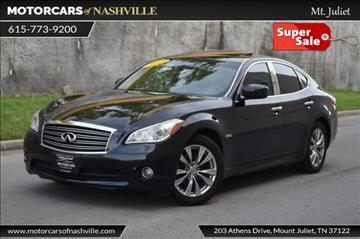 2013 Infiniti M35h for sale in Mount Juliet, TN