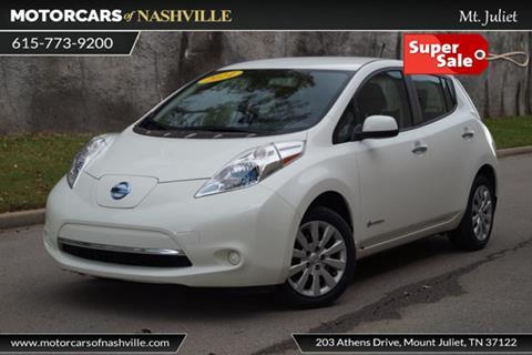 2014 Nissan LEAF for sale in Mount Juliet, TN