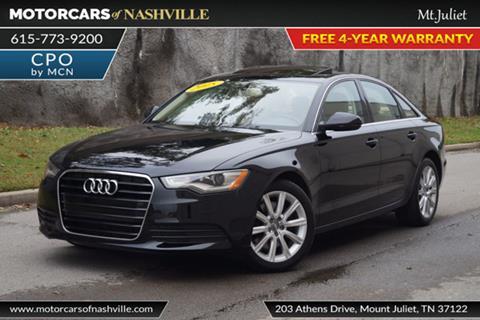 2015 Audi A6 for sale in Mount Juliet, TN
