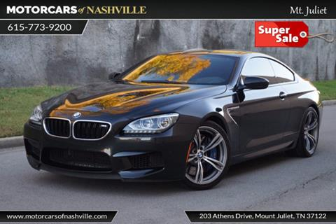 2014 BMW M6 for sale in Mount Juliet, TN