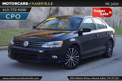 2015 Volkswagen Jetta for sale in Mount Juliet, TN