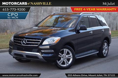 2015 Mercedes-Benz M-Class for sale in Mount Juliet, TN