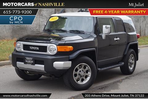 2013 Toyota FJ Cruiser for sale in Mount Juliet, TN