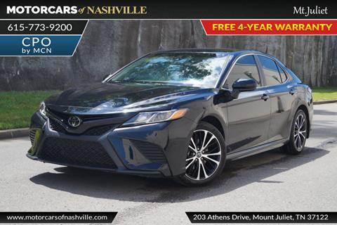 2018 Toyota Camry for sale in Mount Juliet, TN