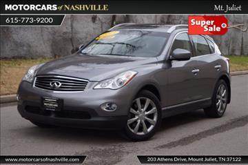 2013 Infiniti EX37 for sale in Mount Juliet, TN