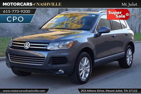 2014 Volkswagen Touareg for sale in Mount Juliet, TN