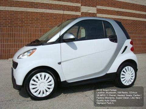 2015 Smart fortwo for sale in Highland Park, IL