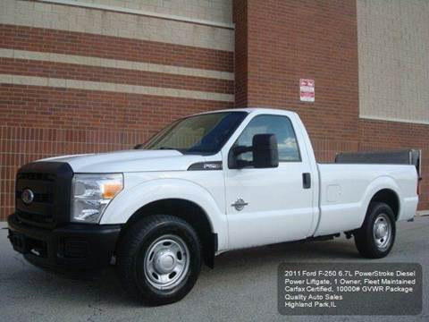 2011 Ford F-250 Super Duty for sale in Highland Park, IL