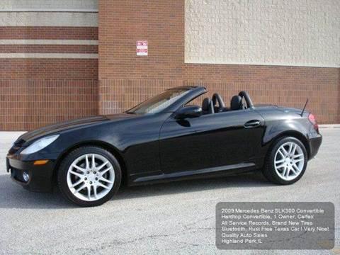 2009 Mercedes-Benz SLK for sale in Highland Park, IL