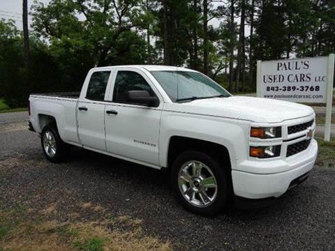2014 Chevrolet Silverado 1500 for sale in Lake City, SC