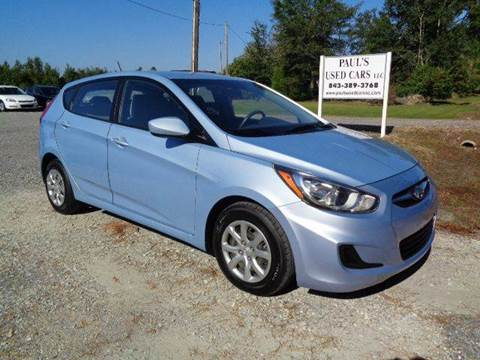 2014 Hyundai Accent for sale in Lake City, SC