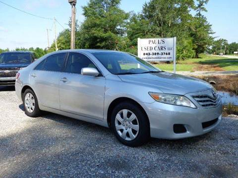 2010 Toyota Camry for sale in Lake City, SC