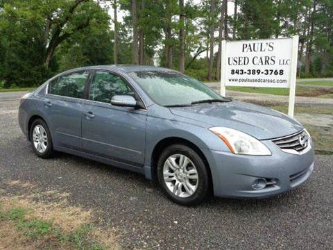 2012 Nissan Altima for sale in Lake City, SC