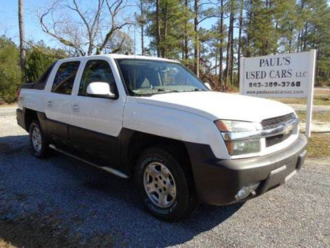 2004 Chevrolet Avalanche for sale in Lake City, SC
