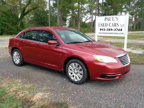 2014 Chrysler 200 for sale in Lake City, SC
